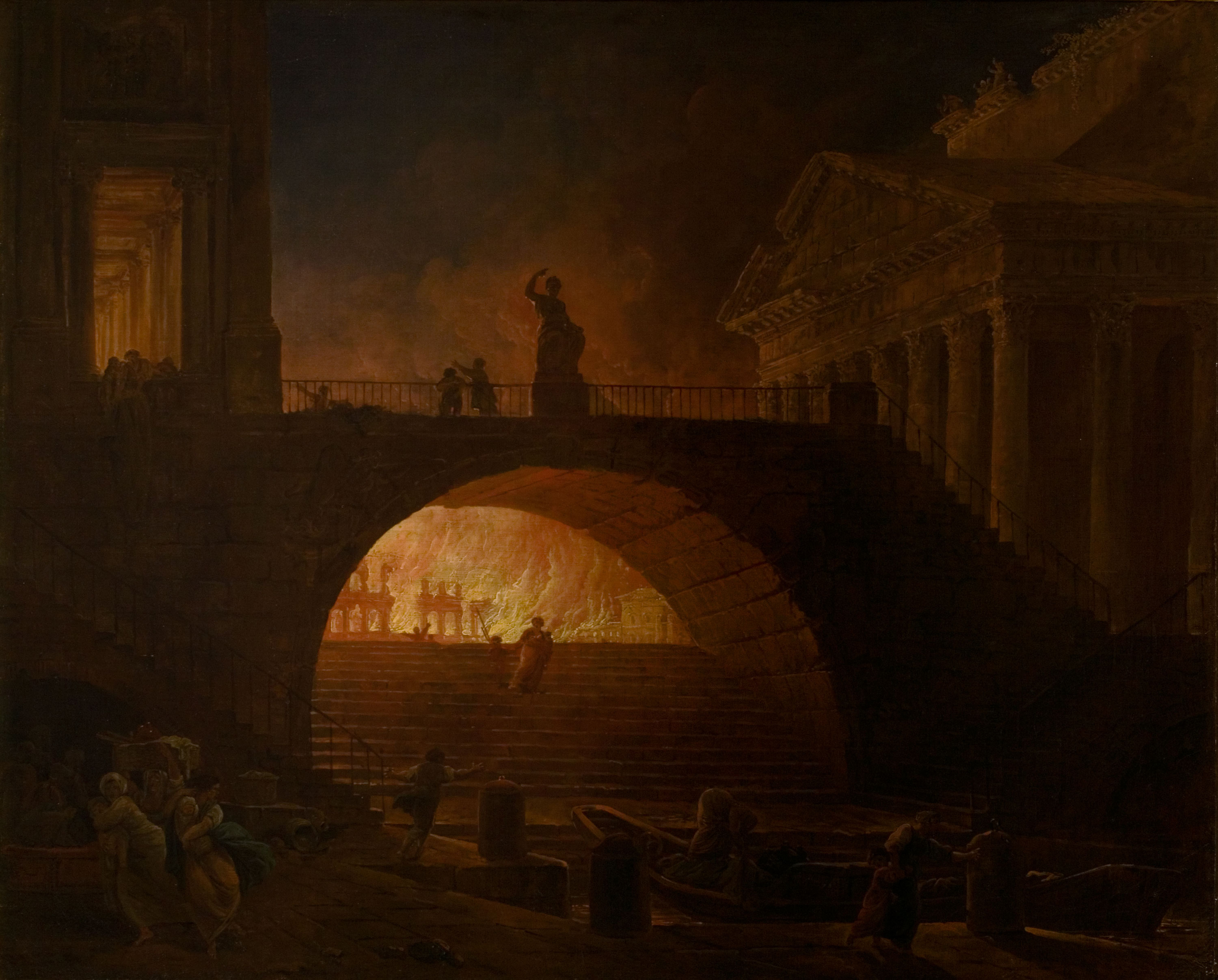 Did Nero really fiddle while Rome burned? - HISTORY
