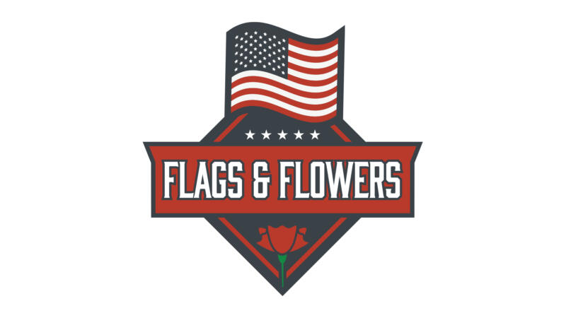 Flags and Flowers