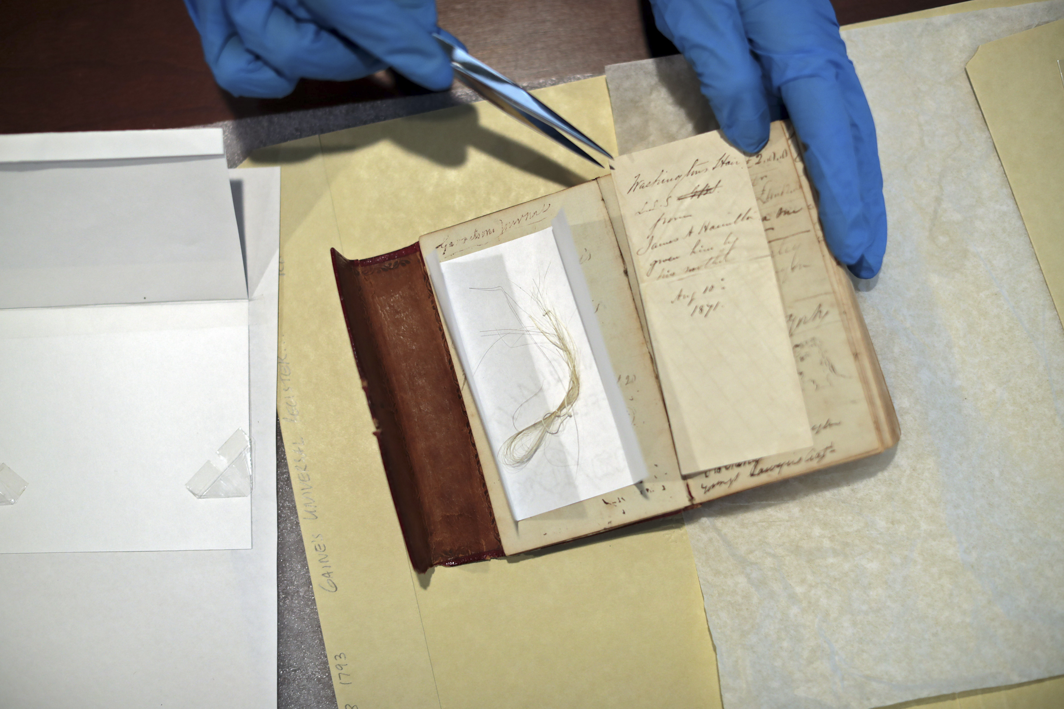 George Washington's Hair Found in 18th-Century Almanac