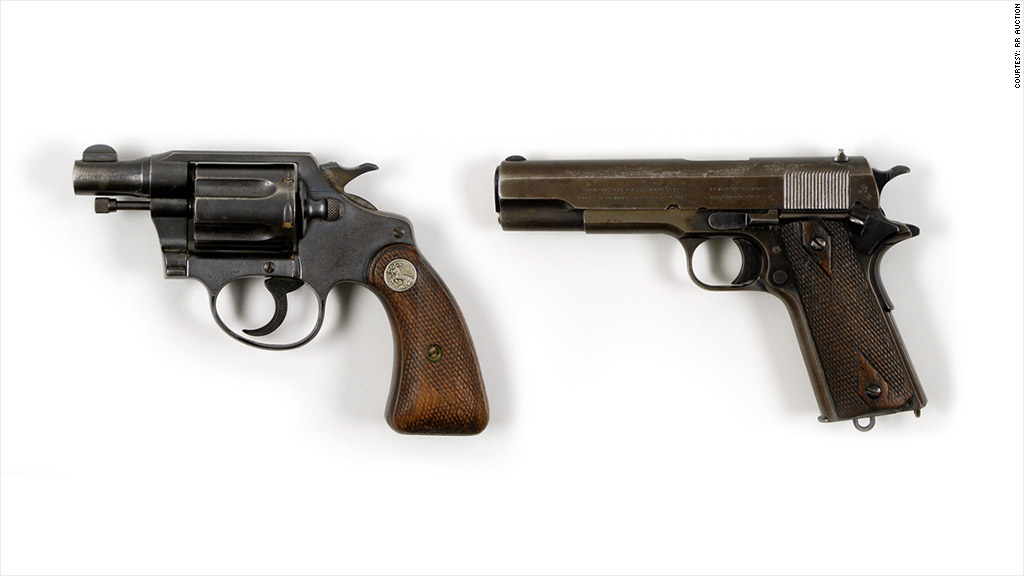 Guns Found on Outlaws Bonnie and Clyde for Sale