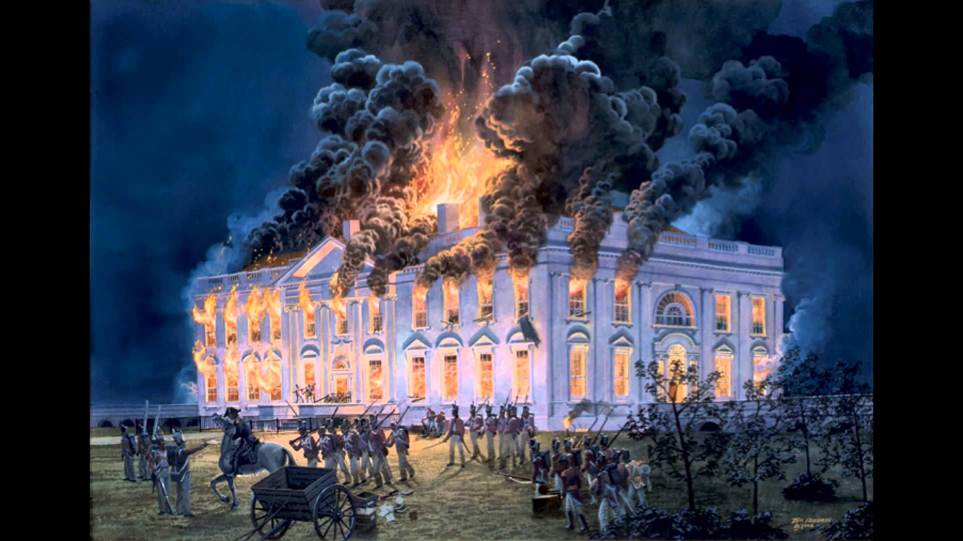 The British Burn Washington, D.C., 200 Years Ago