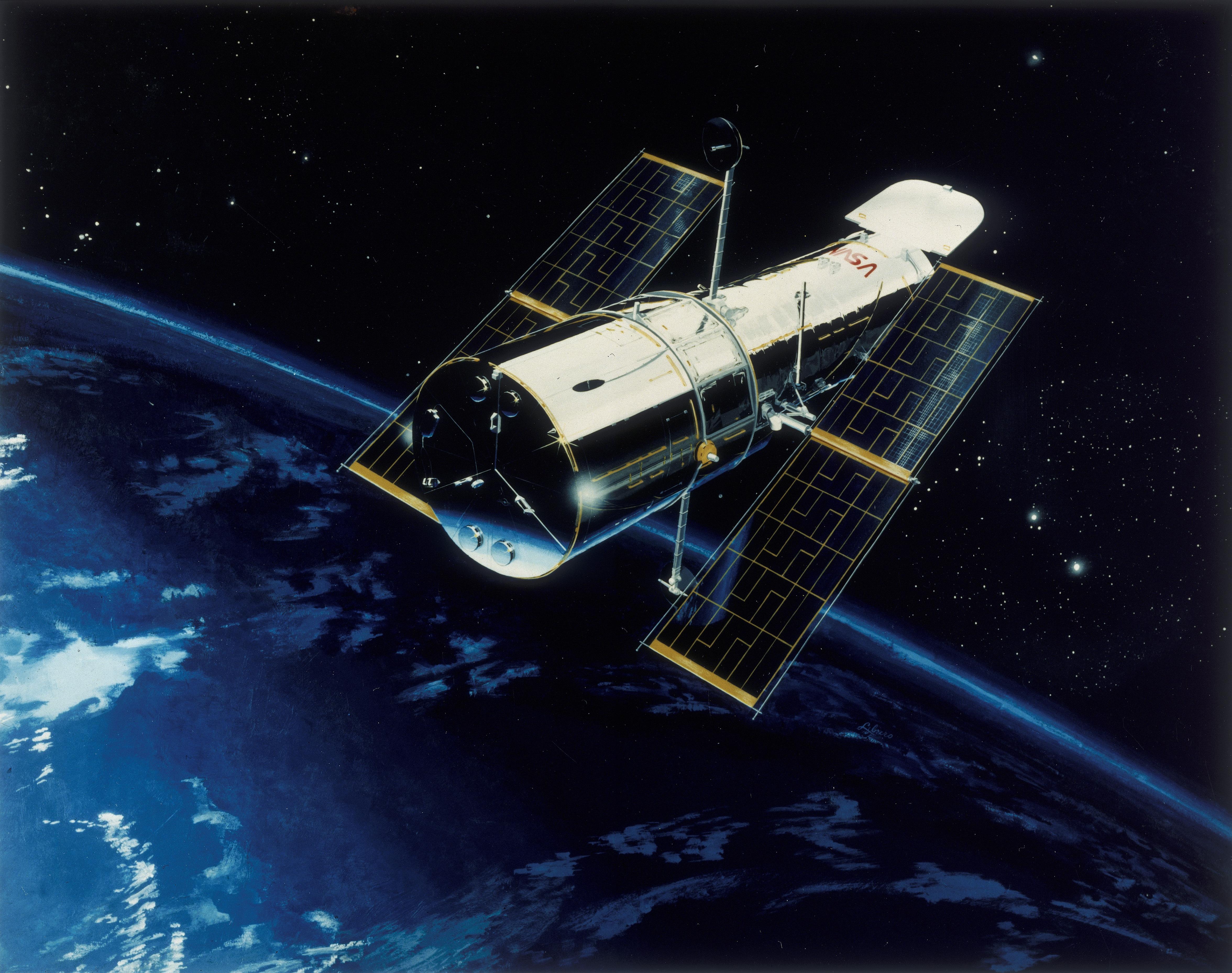 nasa building the hubble space telescope - HD4704×3714