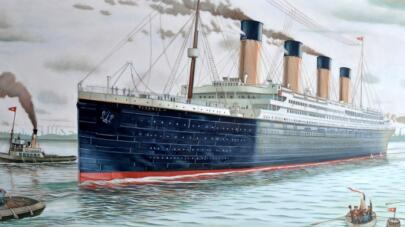 The Titanic: Before and After Photos