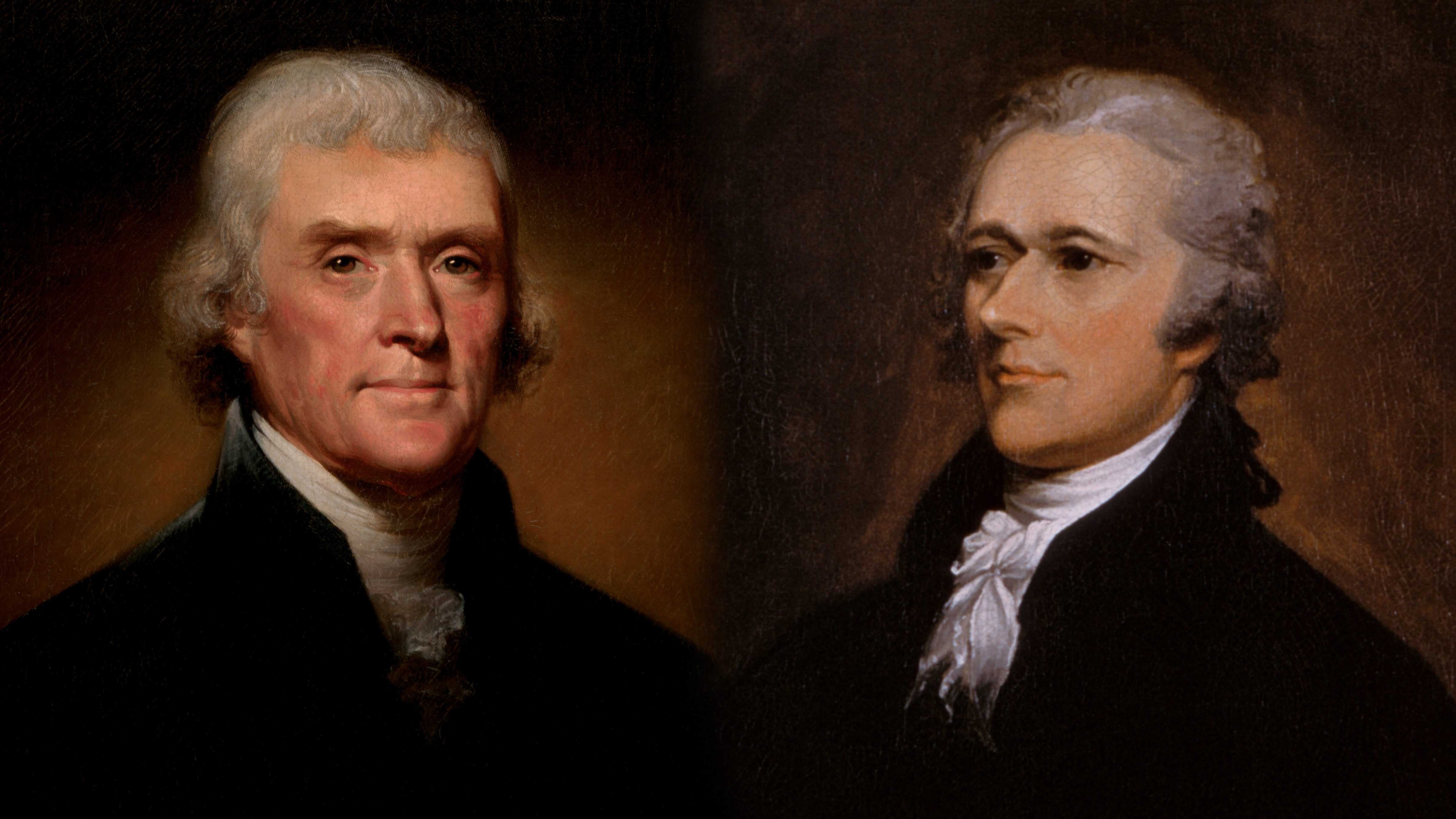 what did hamilton and jefferson disagree on