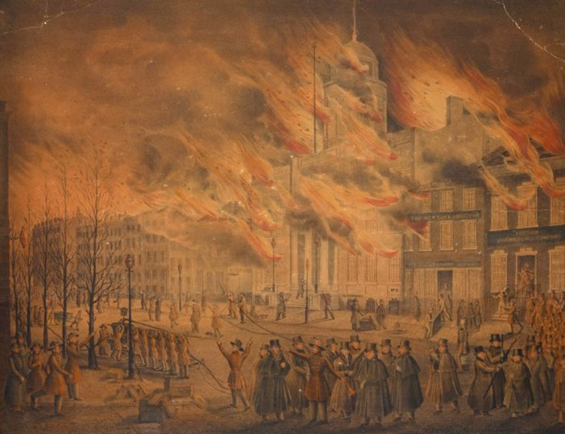 The Forgotten Fire That Leveled New York