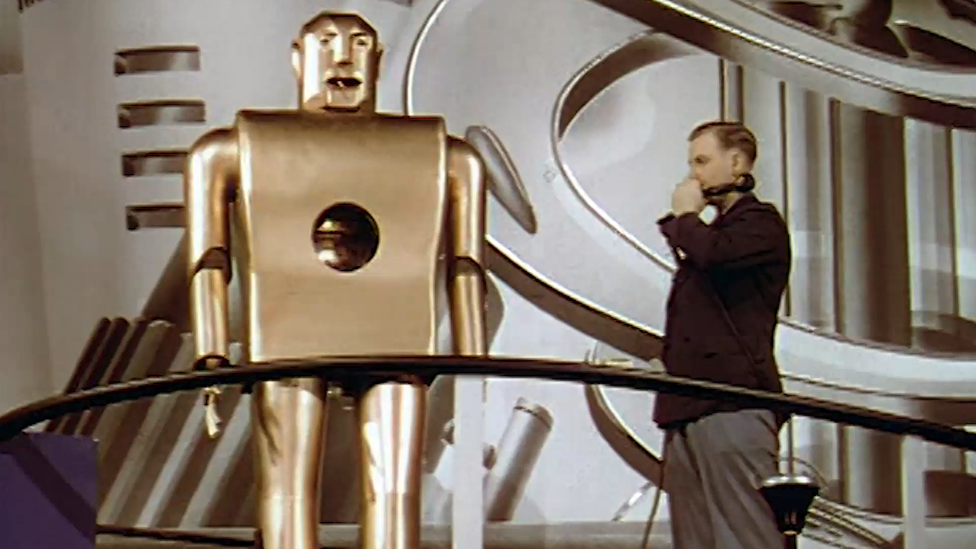 A Smoking Robot Ruled the 1939 World's Fair
