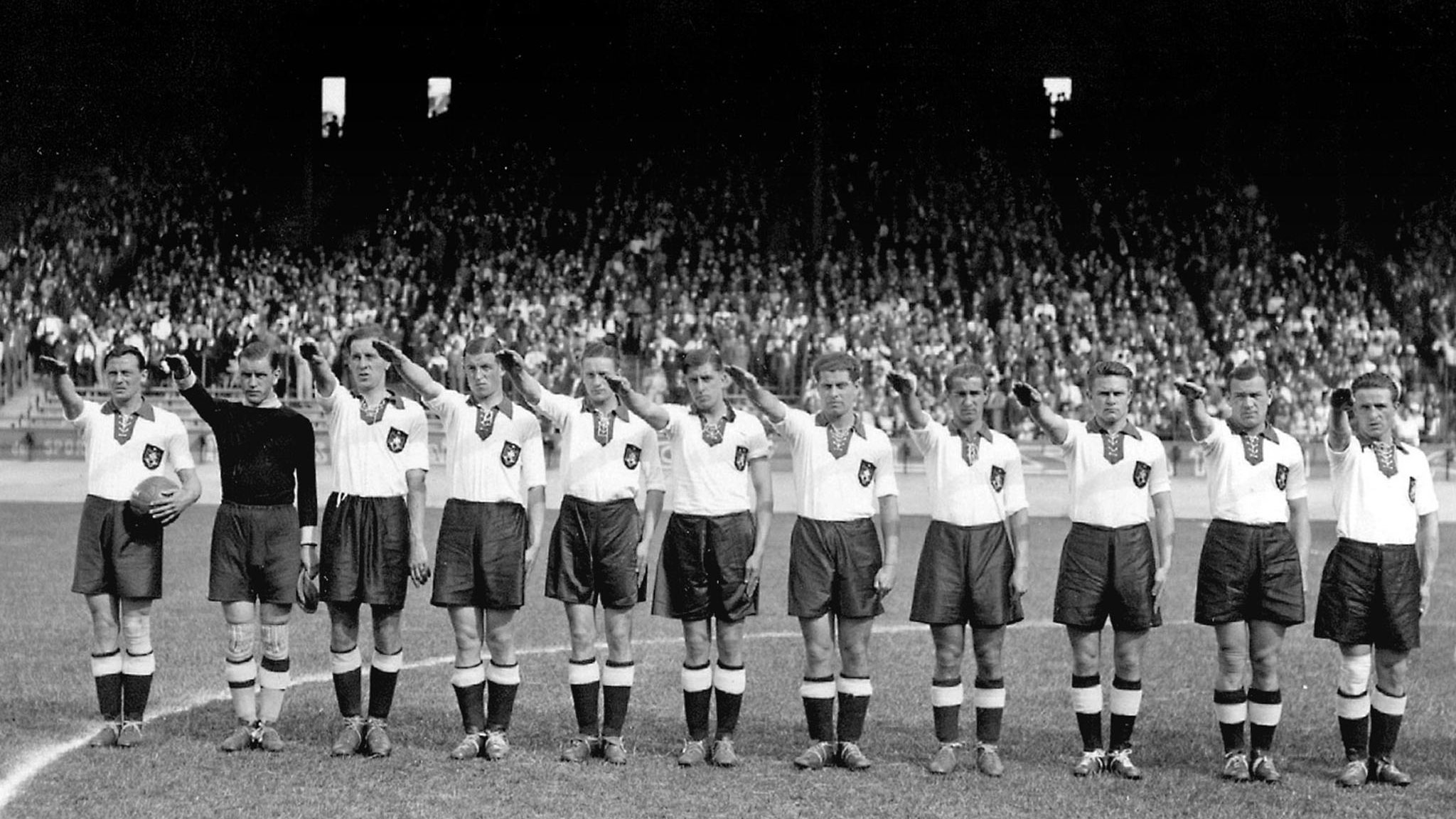 World Cup 1938: When Nazi Germany Forced Austrians to Play For Them—And Lost