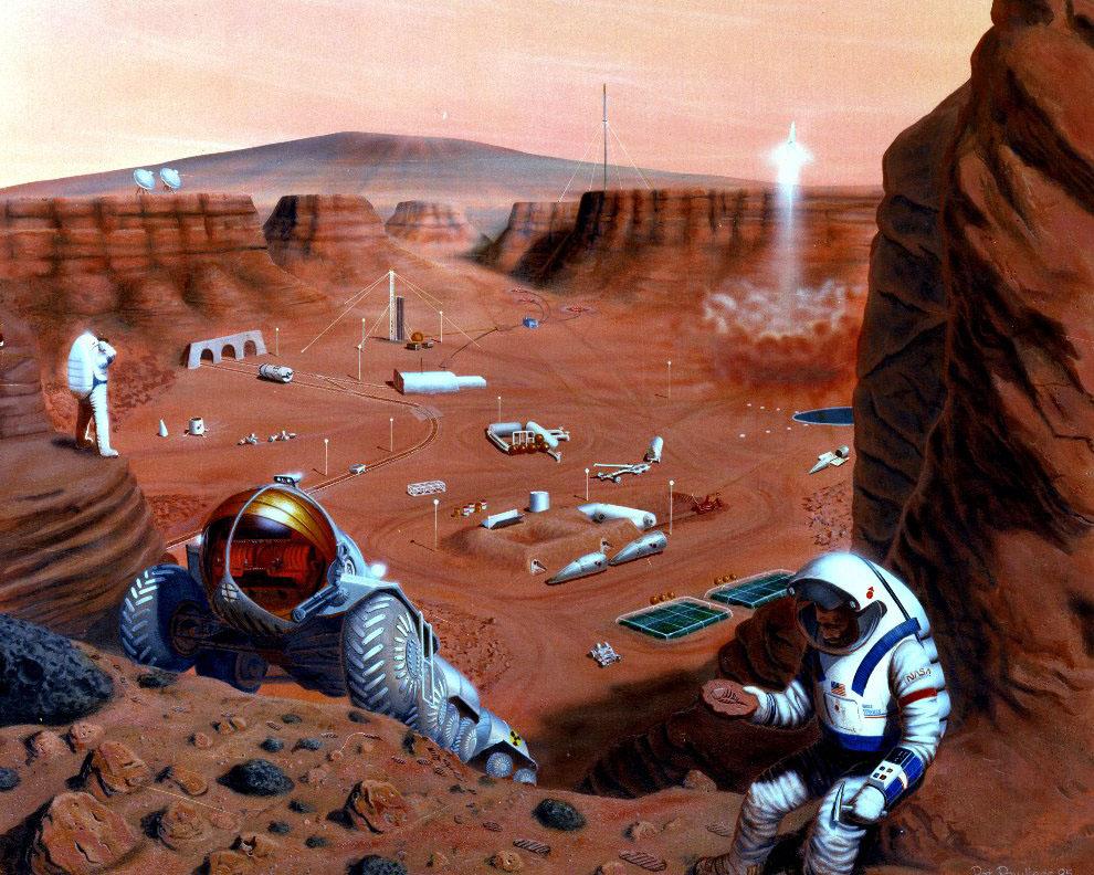 Exploring Life on Mars
