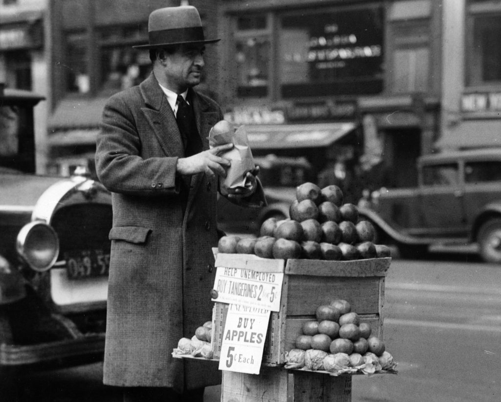 Selling Apples during the Great Depression