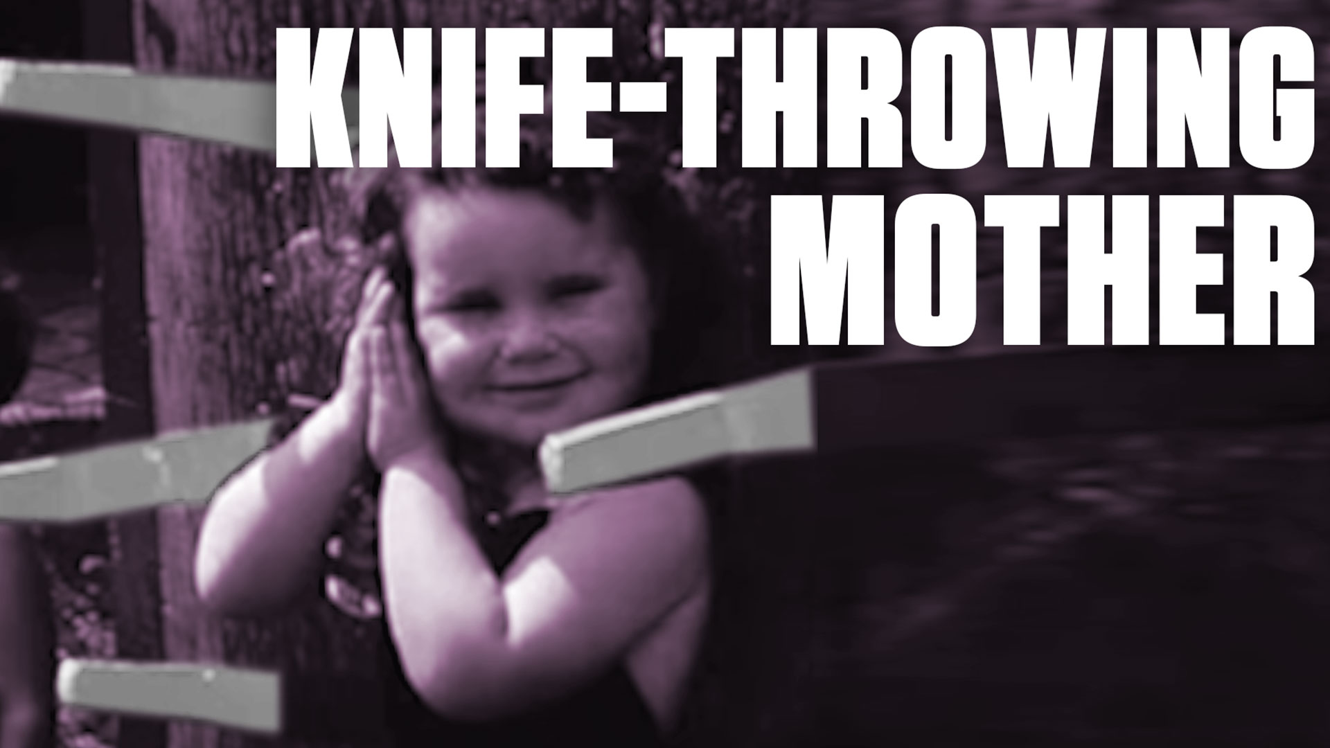 Watch a 1950s Knife Thrower Use Her Daughters as 'Target Girls'