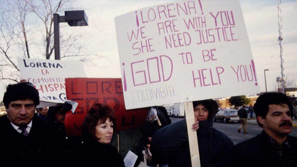 Lorena Bobbitt supporters