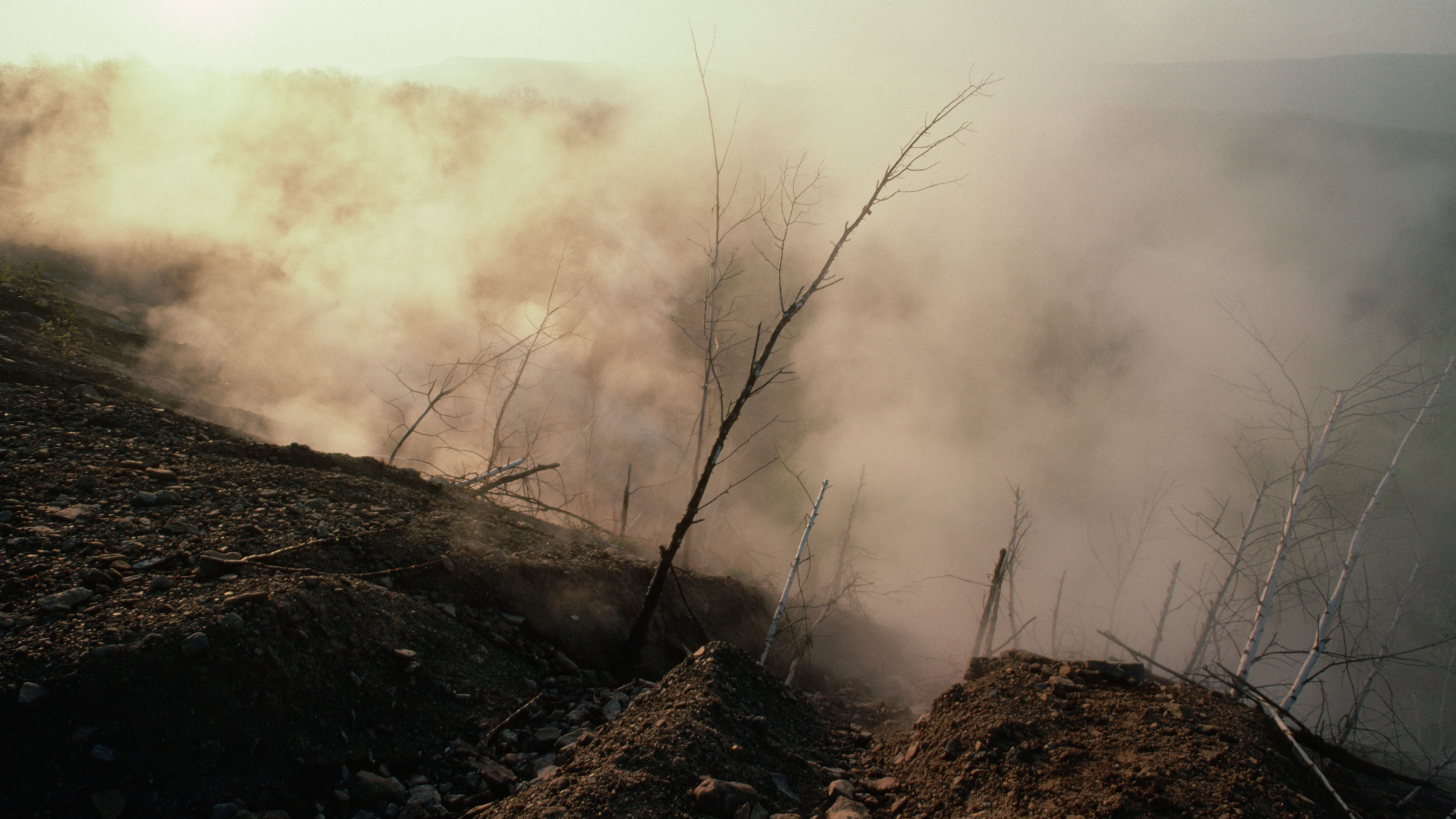 This Mine Fire Has Been Burning For Over 50 Years - HISTORY