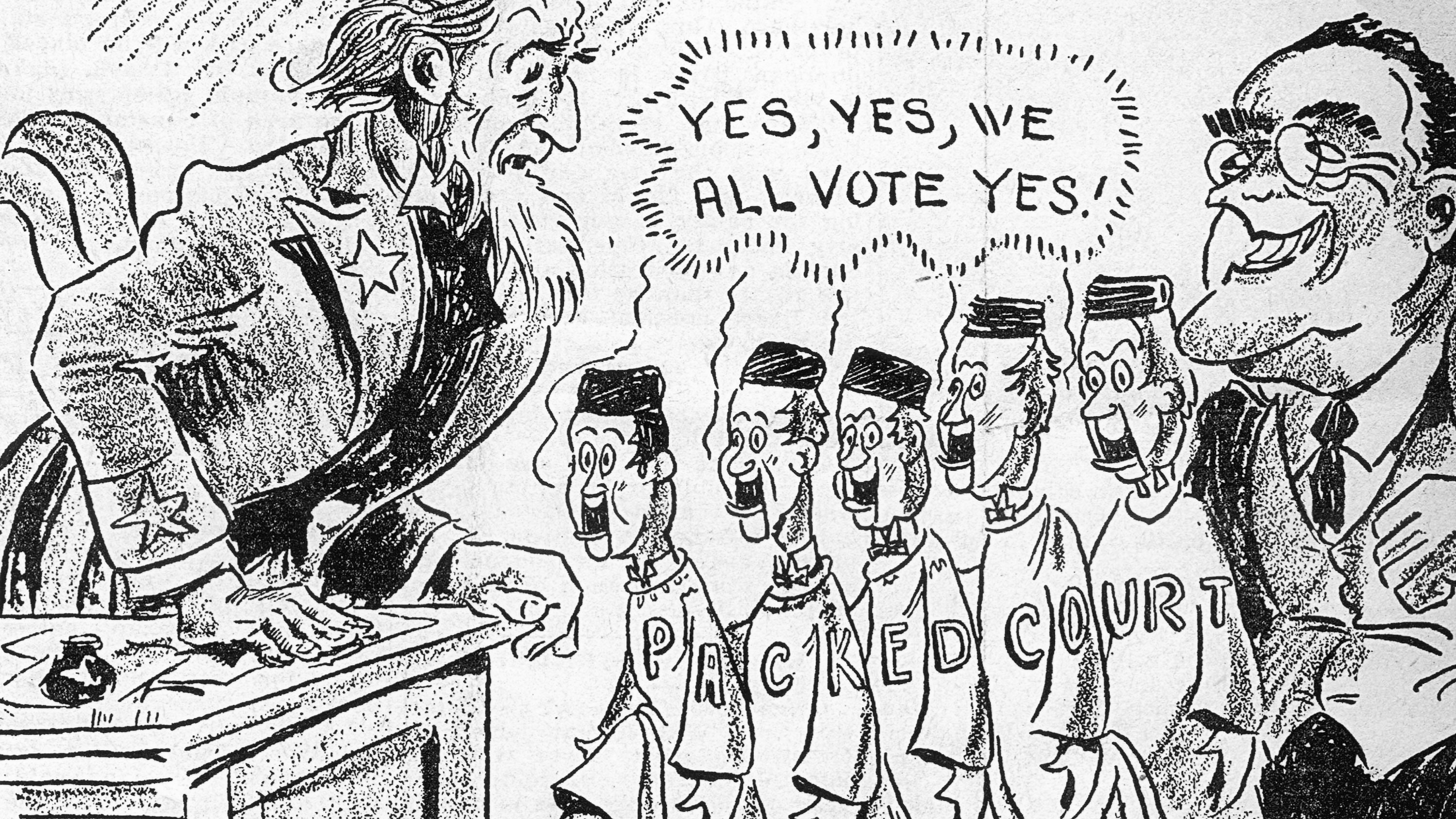 This Is How FDR Tried to Pack the Supreme Court - HISTORY