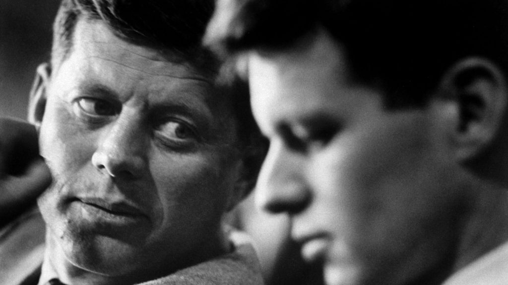 John F Kennedy and Robert F Kennedy