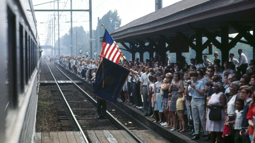 Robert F. Kennedy's funeral train