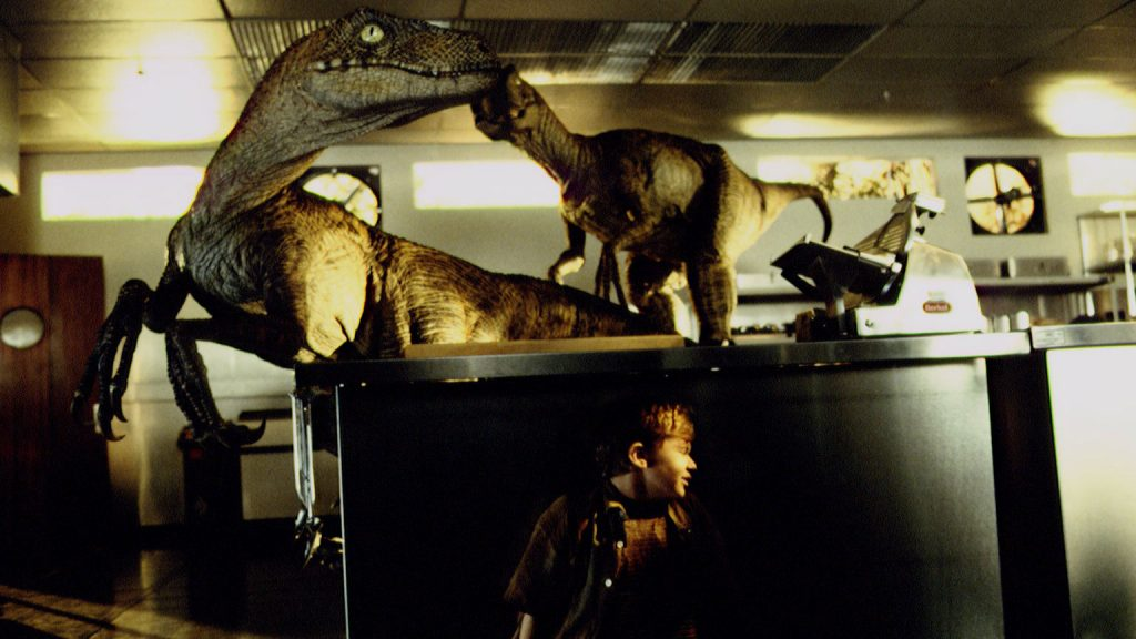 Raptors from Jurassic Park