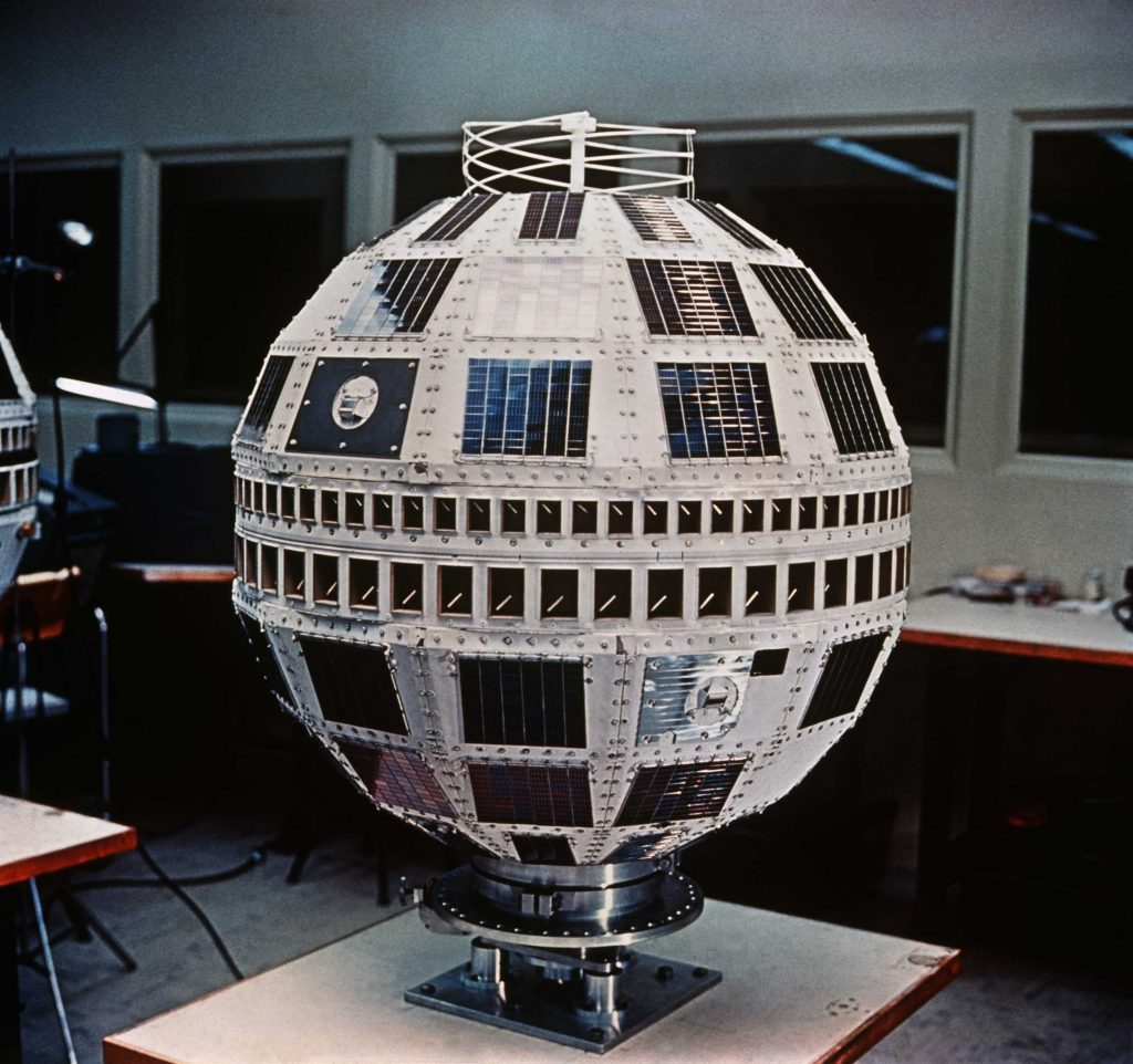 Telstar Satellite, 1962