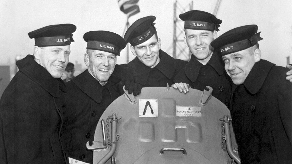 Brothers Joseph, Francis, Albert, Madison and George Sullivan