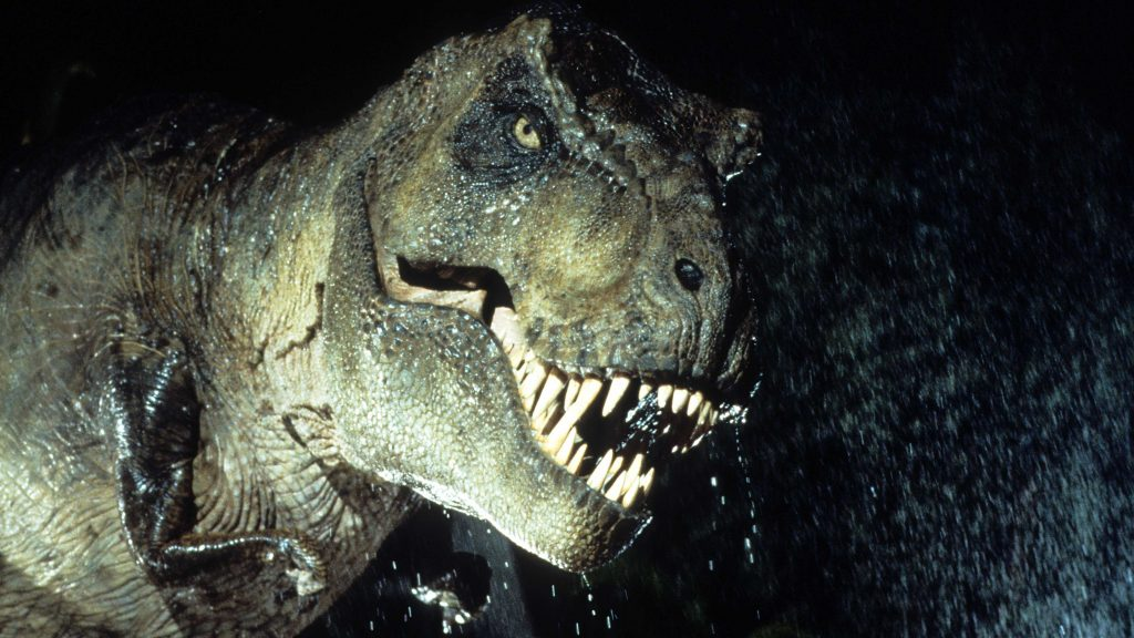 T-Rex from Jurassic Park