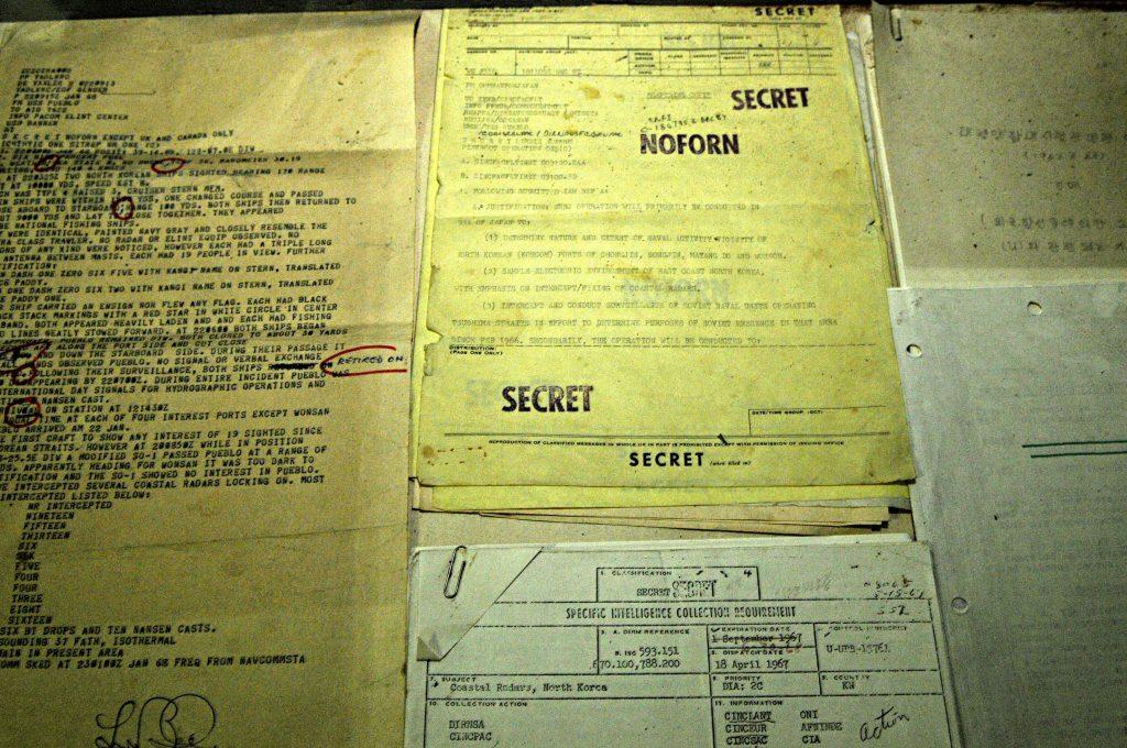 Documents aboard the USS Pueblo