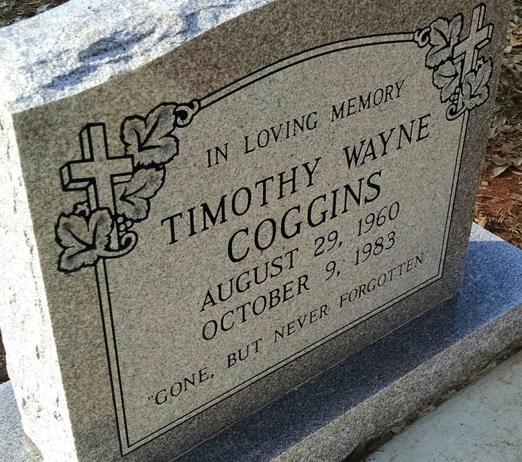 Timothy Coggins grave