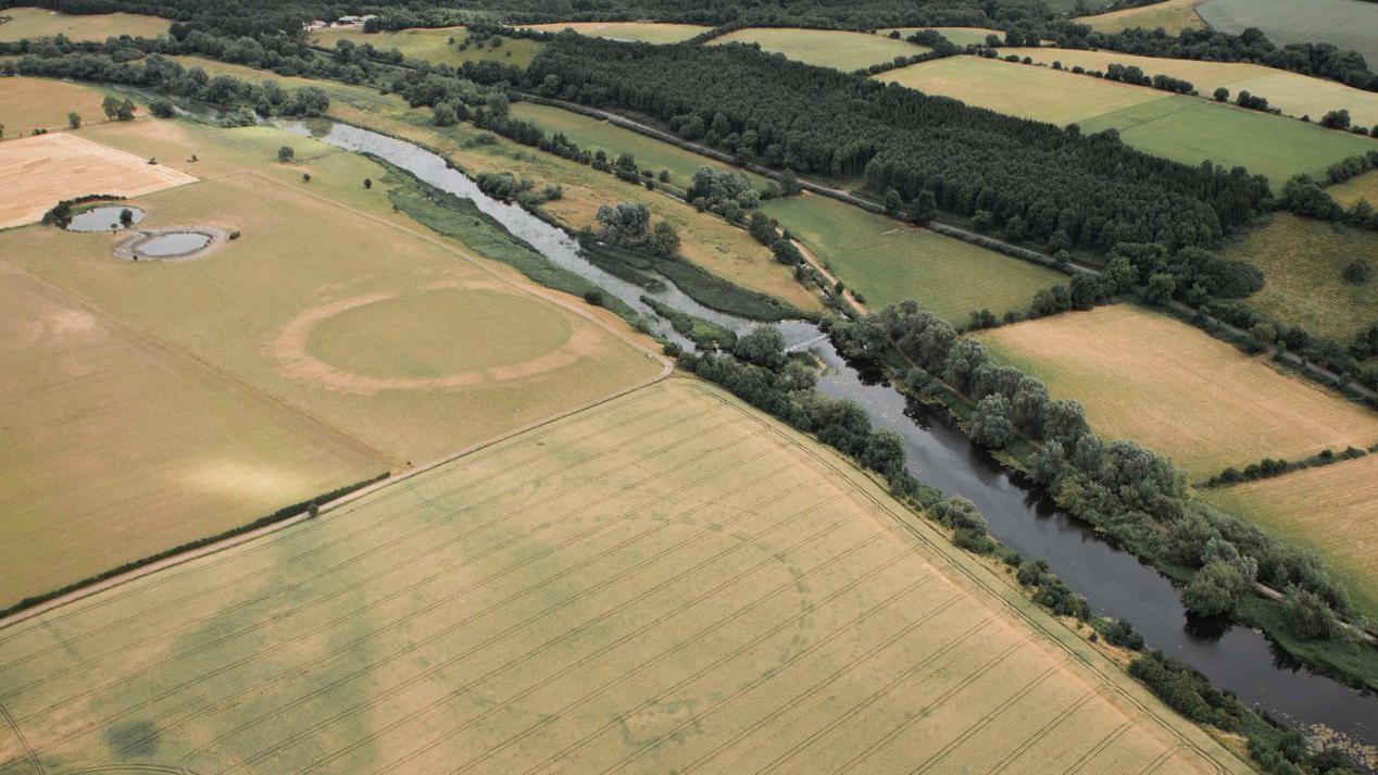 Drone Spots 5,000-Year-Old Henge in Ireland