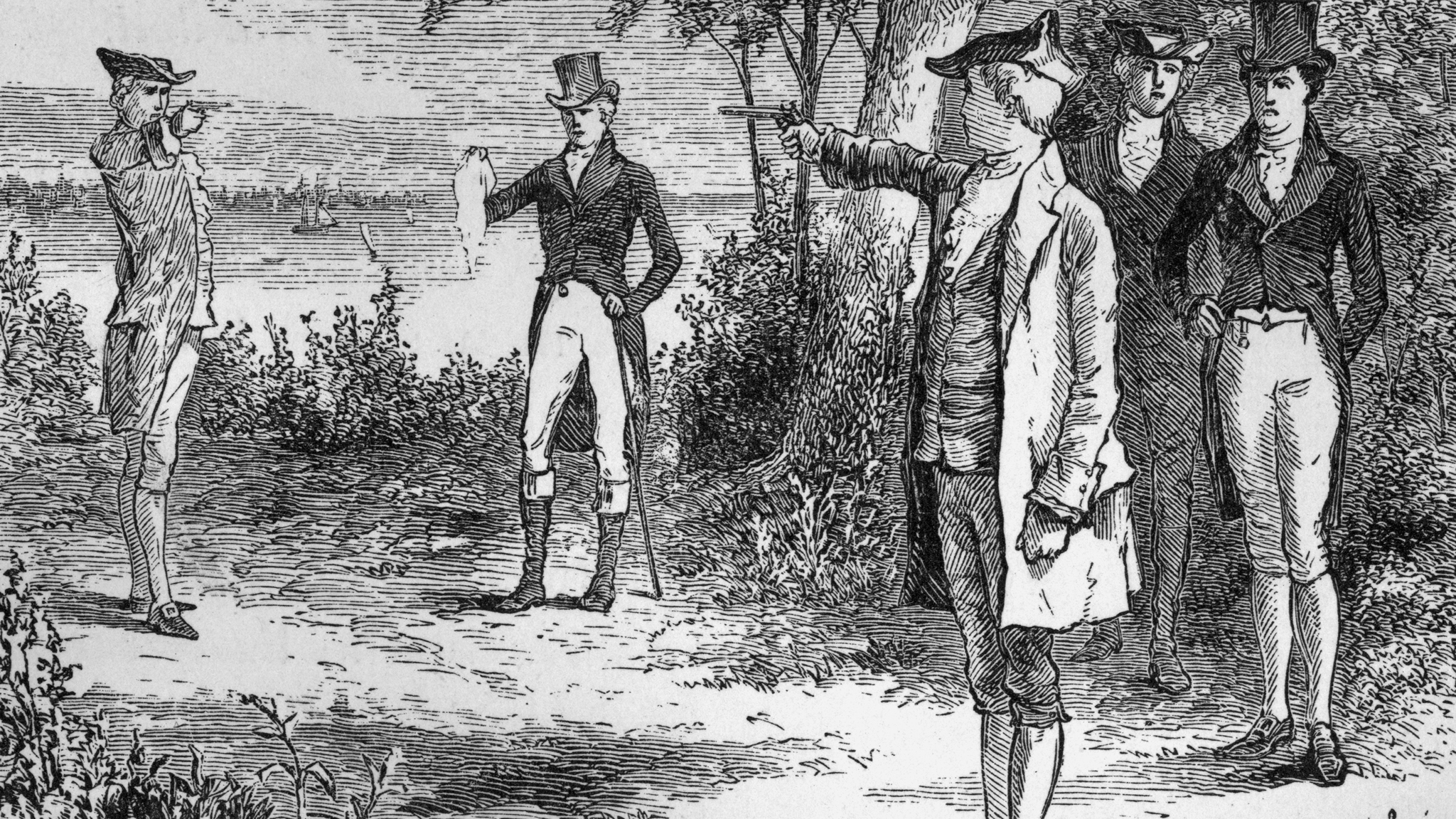 Burr's Political Legacy Died in the Duel with Hamilton