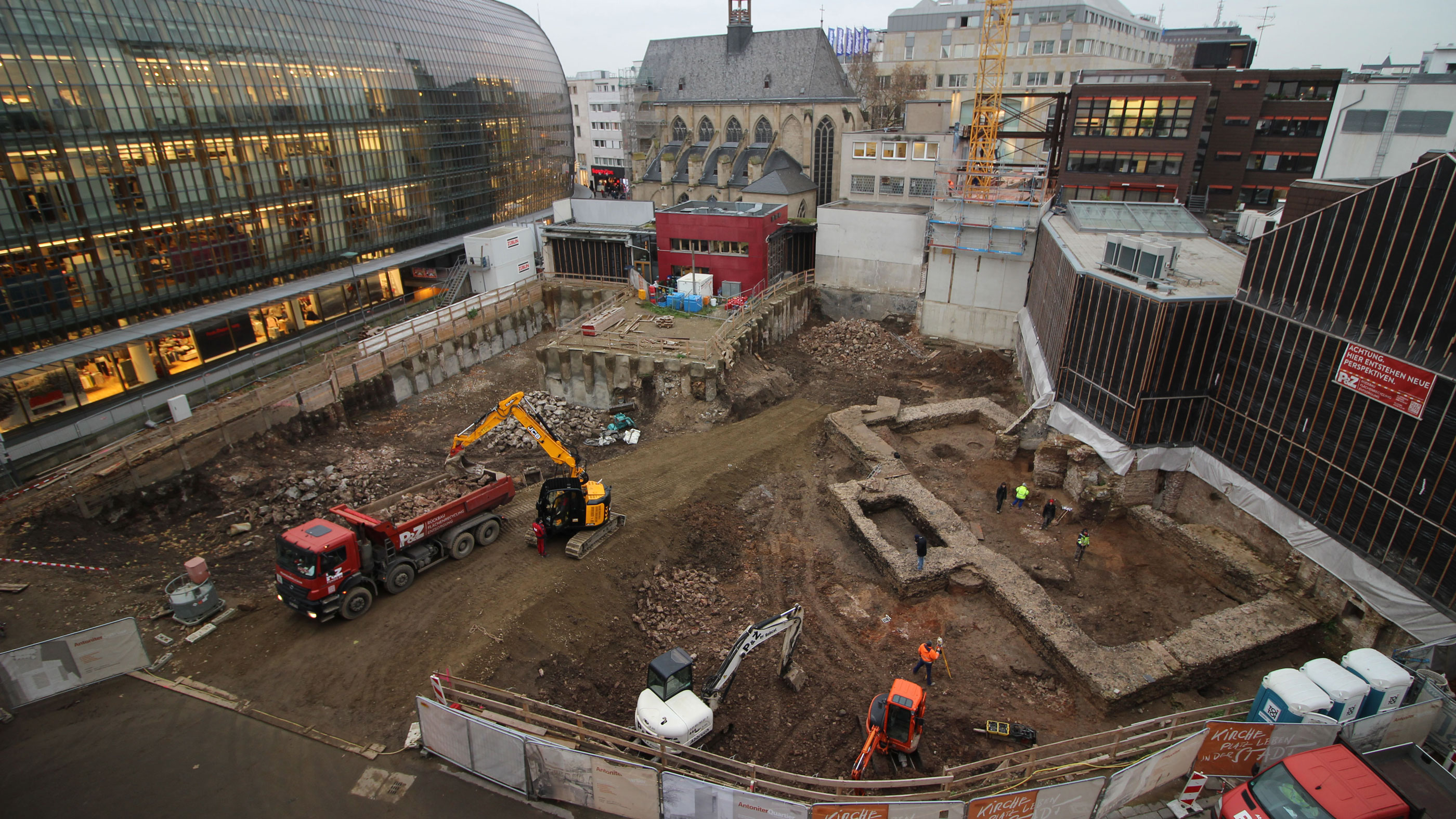 Ancient Roman Library Discovered During Construction in Germany