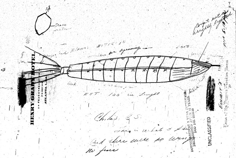 The Chiles-Whitted UFO Encounter
