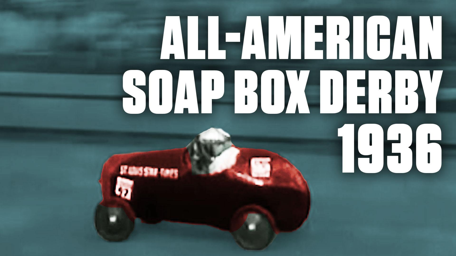 The 1936 Soap Box Derby Drew 100,000 Rowdy Spectators: Video