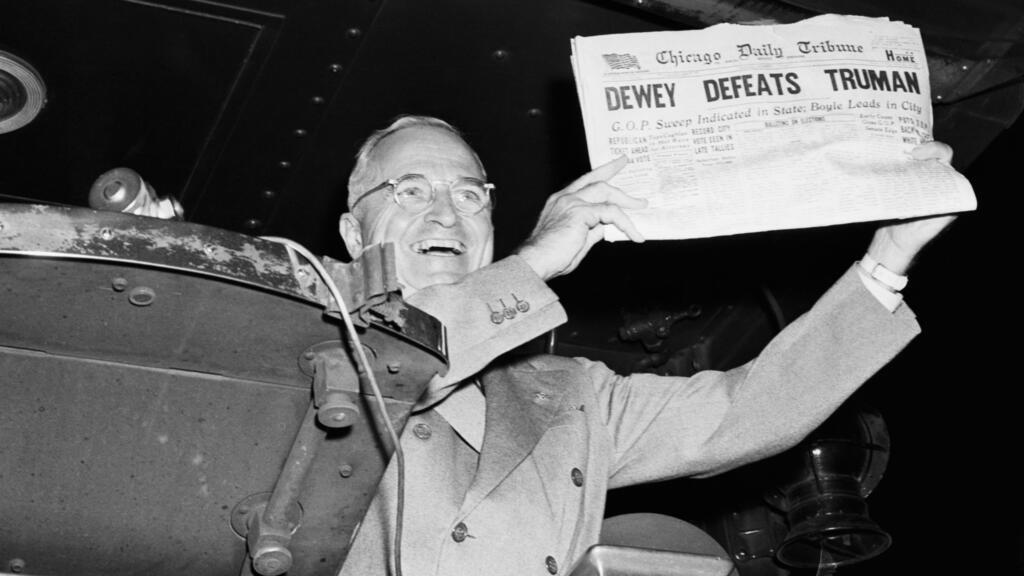 'Dewey Defeats Truman': The Election Upset Behind the Photo
