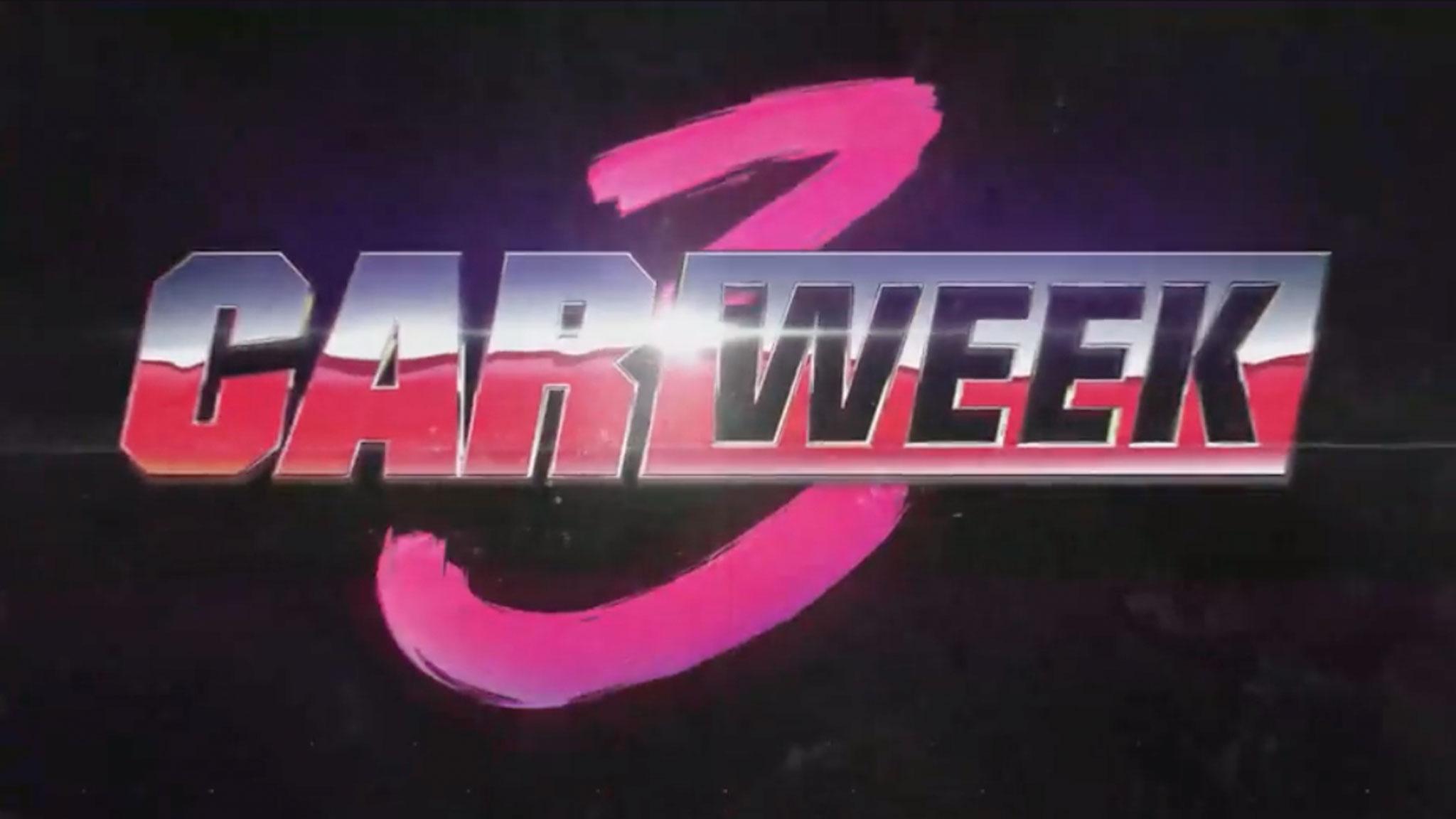 Car Week Press Release