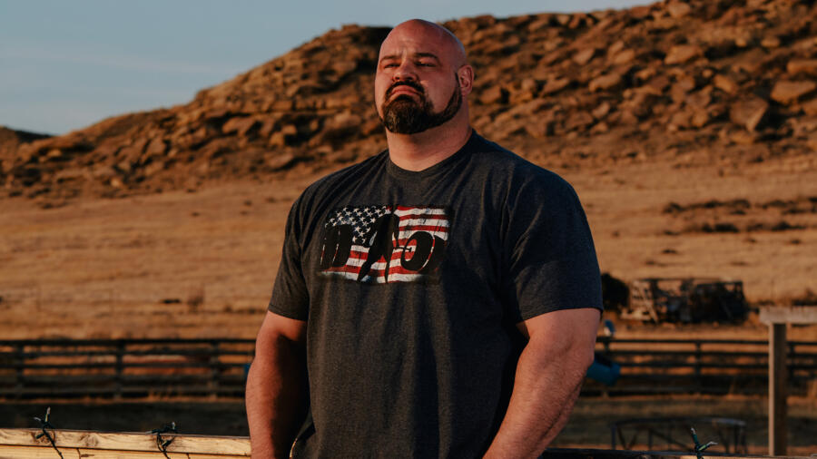 Brian Shaw from The Strongest Man in History
