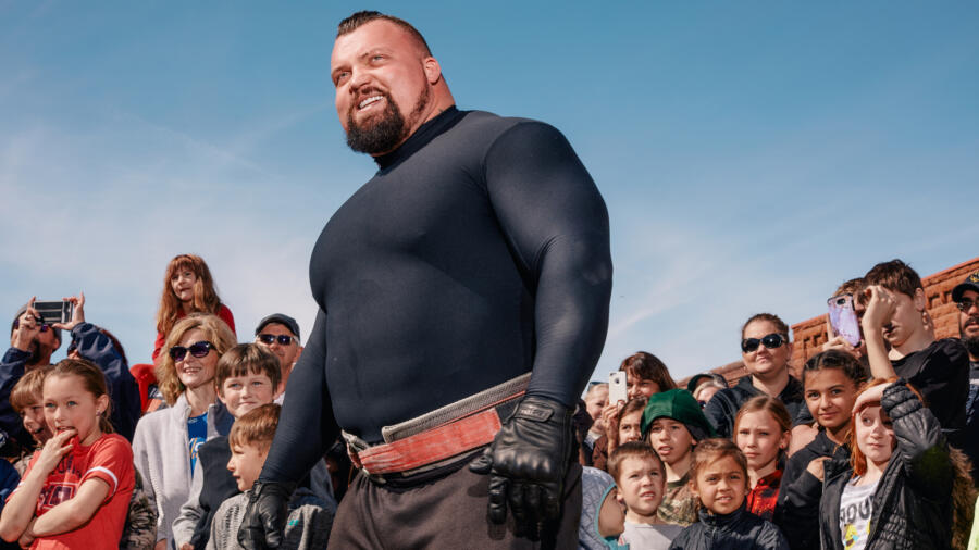 Eddie Hall - The Strongest Man in History Cast | HISTORY