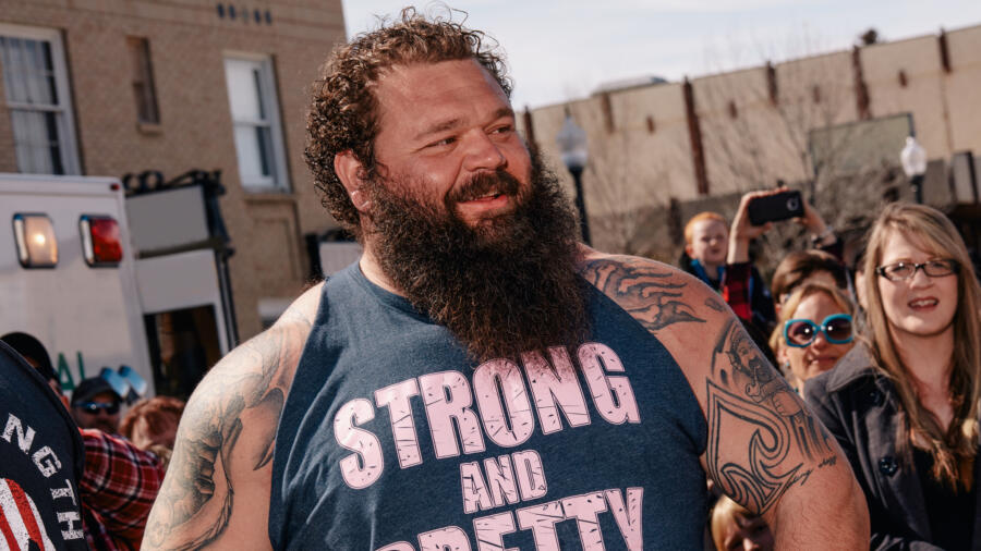 Robert Oberst from The Strongest Man in History