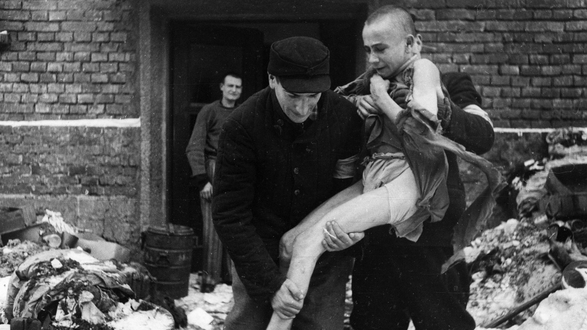 Auschwitz Photos Taken After Its Liberation Reveal Devastating Atrocities