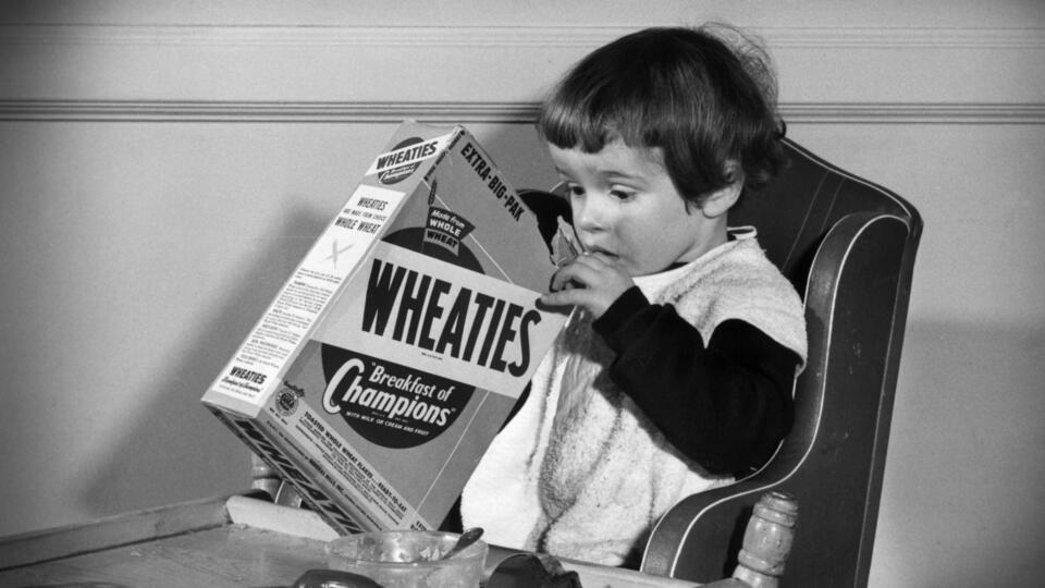 Wheaties advertisement