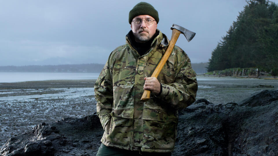David McIntyre from Alone Season 2