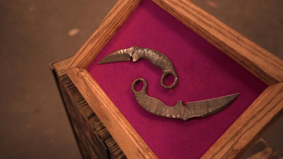 Forged in Fire Karambit Knife
