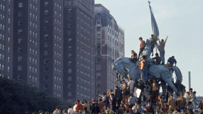How the Yippies 'Stuck It to the Man' at the 1968 DNC
