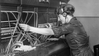 The Rise and Fall of Telephone Operators