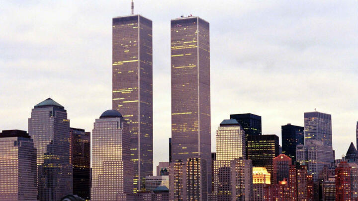 The World Trade Center before the attacks.