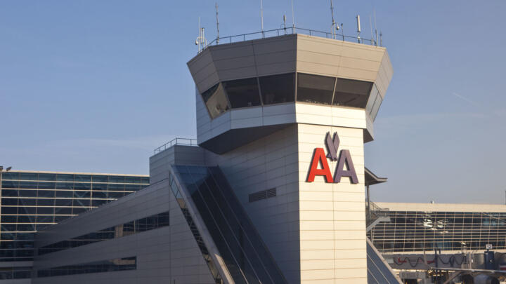 Air control tower for American Airlines