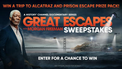 Great Escapes with Morgan Freeman Sweepstakes