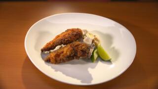 Tandoori Fried Chicken with Potato Salad