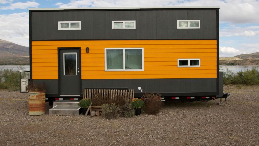Tiny House Tour: Retro Garage House