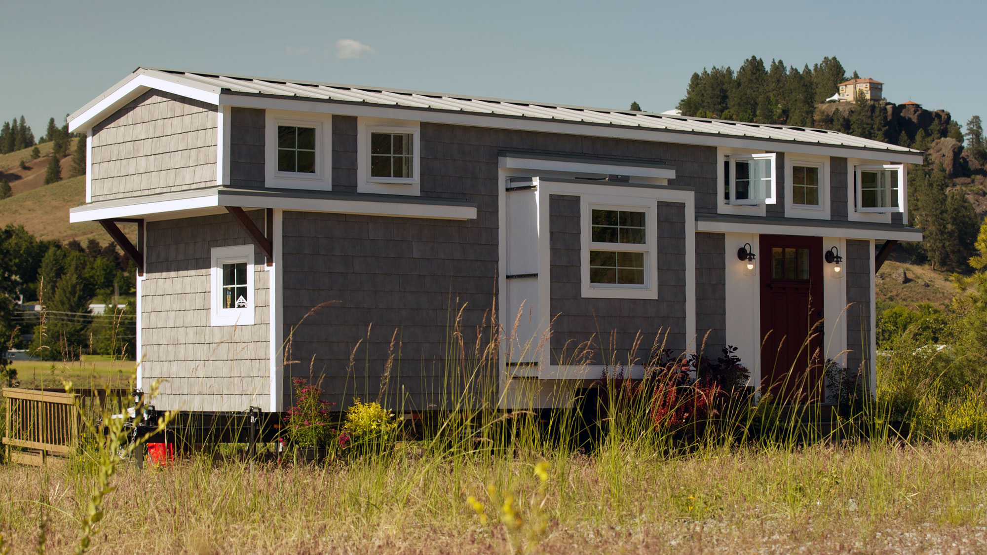 Tiny House Tour: Expandable Tiny Cottage