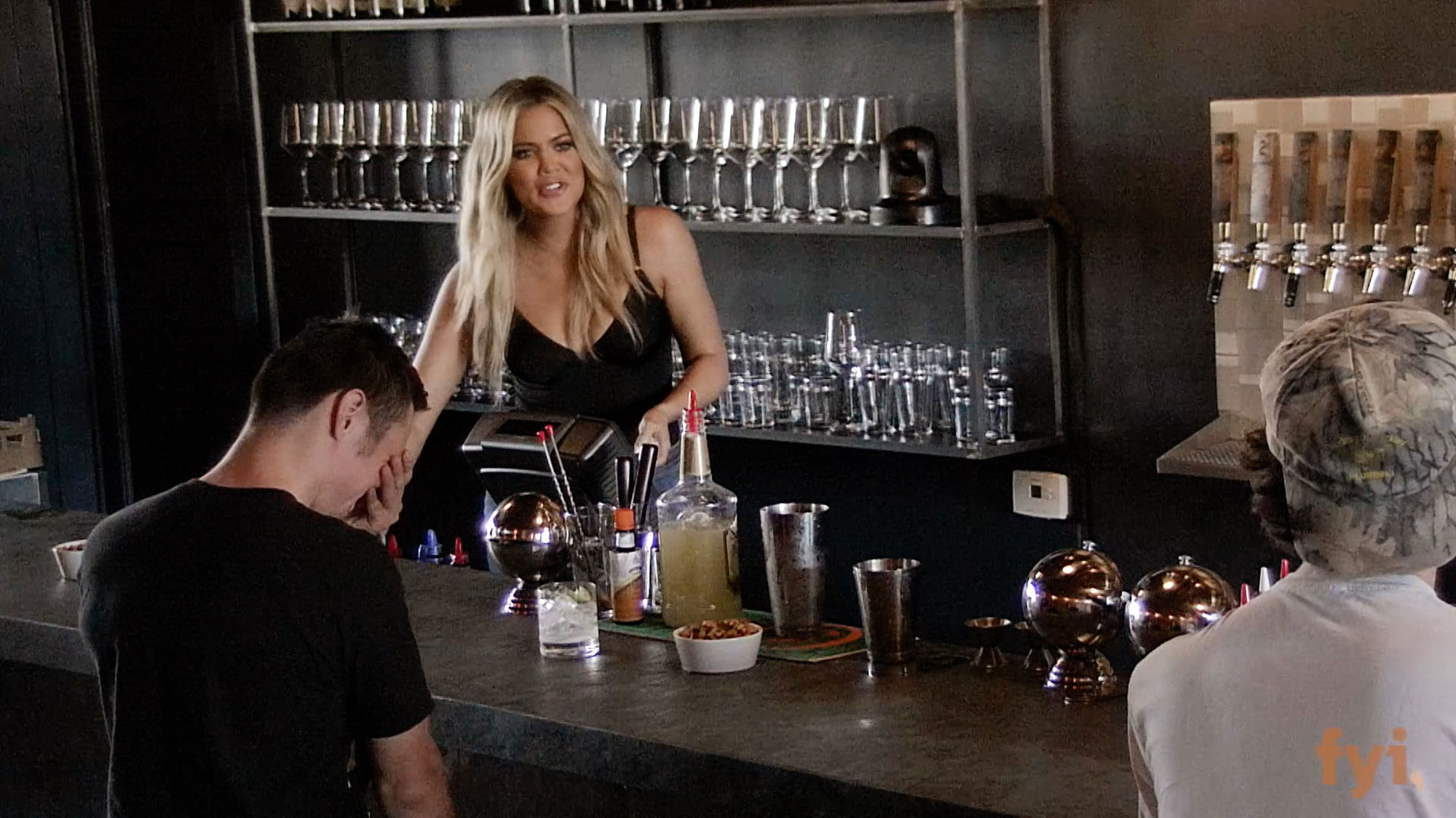 Khloé Kardashian Serves Up a Few Kocktails