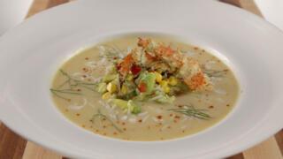 Box Crab Lime Bisque Recipe