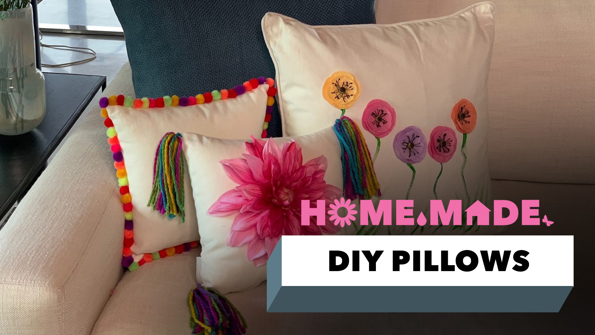 DIY Pillows Decor